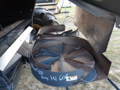 Factory Dual Chaff Spreader - 500 Series