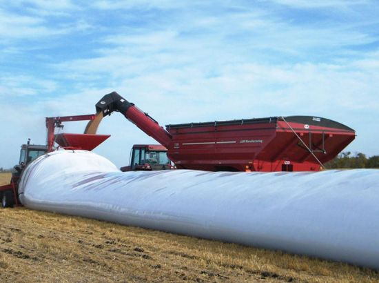 AgFlex 9MIL x 10.5' x 400' grain bag with seven-layer technology keeps your grain sealed air-tight. Great value for storage.