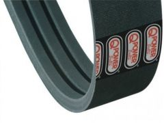 """H236472: Belt for the feed accelerator on John Deere S-Series & STS combines. 5/8"""" x 84"""" wrap, 3-band, 0.611"""" thick."""