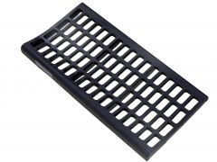 19mm pre-concave grates for Lexion 460-780 wide body combine Advanced Pre-Separation (APS) threshing systems. OEM part # 7574391.