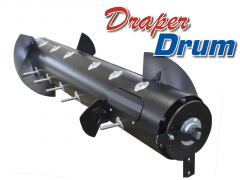 MacDon - Draper Drum heavy duty auger drum replacement for MacDon FD & D. Save time & money with faster feeding, fewer blockages.