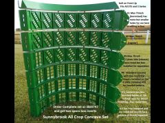"John Deere STS & S ""All Crop"" Sunnybrook Concave Set"