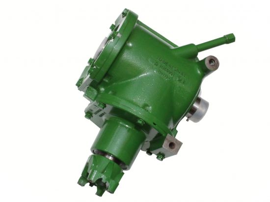 AH154770: John Deere STS combine primary countershaft gearcase for sale at Combine World. OEM; genuine JD part. Sold with warranty. OEM part # AH154770.
